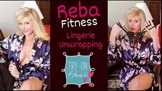 New Lingerie From Amazon; Unwrapping & Try-On With Over 50 Reba Fitness