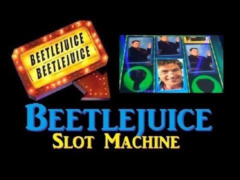 ✖ NEW BEETLEJUICE SLOT MACHINE! Beetlejuice Slot Machine Bonus Demo ~ WMS (DProxima Slot Machine)
