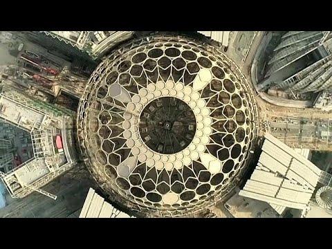 فيديو: انتهاء الأعمال في قبة -إكسبو دبي 2020- الفولاذية  - نشر قبل 2 ساعة