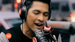 "Gary Valenciano performs ""I Will Be Here / Warrior is a Child"" LIVE on Wish 107.5 Bus"