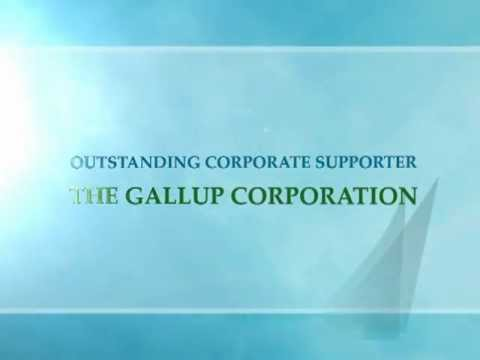 The Gallup Corporation, Outstanding Corpoate Supporter, 2011 SCORE Awards