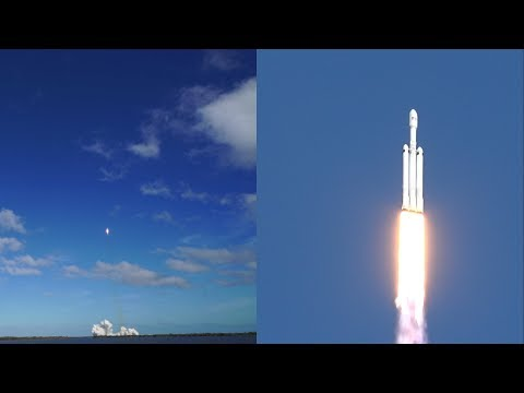 Witnessing History At The Falcon Heavy SpaceX Launch | Kennedy Space Center Visitor Complex