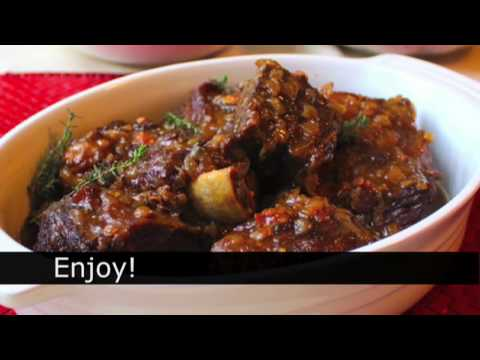How To Make Beef Short Ribs - Sherry Braised Beef Short Ribs Recipe
