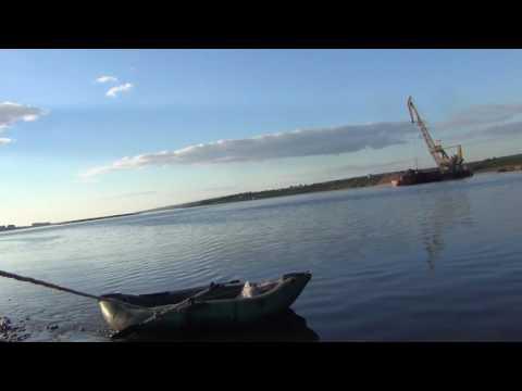Путешествие в ночь на резиновой лодке ПВХ Сибирь, Тайга, Рыбалка, Охота, Выживание