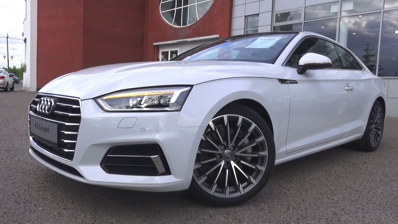 2017 Audi A5 Coupe S-line. Start Up, Engine, and In Depth ...