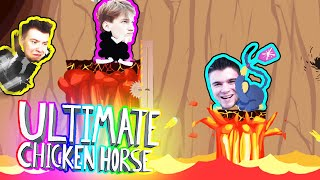 DZIKIE ZWIERZĘTA W WULKANIE | Ultimate Chicken Horse