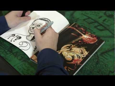 Walt Flanagan Draws! Ep: 12 The RIDDLER streaming vf