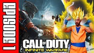 Call of Duty Infinite Warfare Online Gameplay! (DBZ goku?)