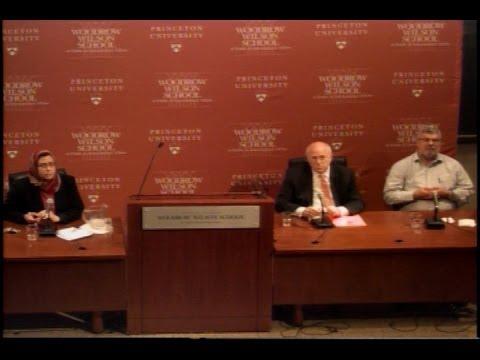 "Amaney Jamal, Daniel Kurtzer & Rami Khouri - ""Up to the Minute: Middle East Peace Talks"""