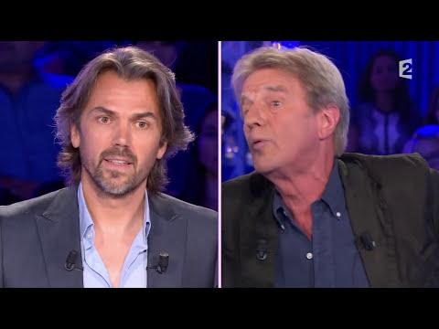 Vif échange entre A. Caron et Bernard Kouchner - On n'est pas couché le 27 septembre 2014  #ONPC