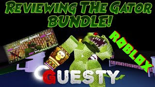 Reviewing The New GATOR Bundle *CHAPTER 4*   ROBLOX GUESTY