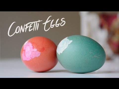 How to Make a Confetti Egg | Pinterest Inspired New Year's DIY