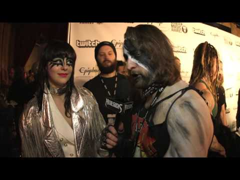 MOTHER FEATHER Interview, Revolver Music Awards 2016 Black Carpet | MetalSucks