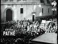 Throng Wall Street As Stock Market Crashes (1929)