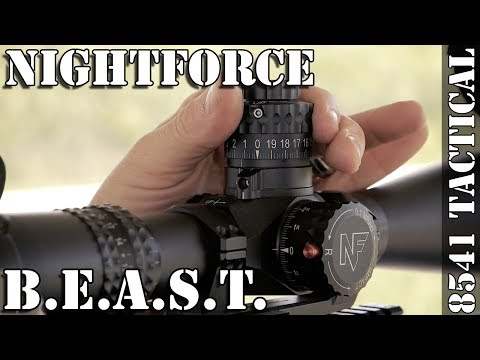 Nightforce B.E.A.S.T. 5-25x56mm F1 Rifle Scope Review