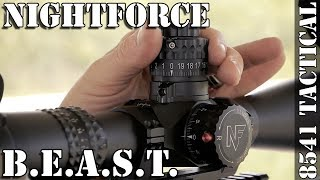Nightforce B.E.A.S.T. 5-25x56mm F1 Rifle Scope Review
