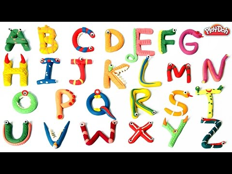 Play Doh ABC | Learn Alphabets | Play Doh Abc Song | Kids Learning ABC | Learning Kids Videos