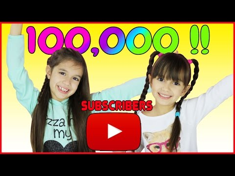 5 and 7 year old kids reach 100,000 SUBSCRIBERS!!!! Celebration, Countdown and Live Reaction