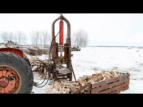 45 Ton Log Splitter