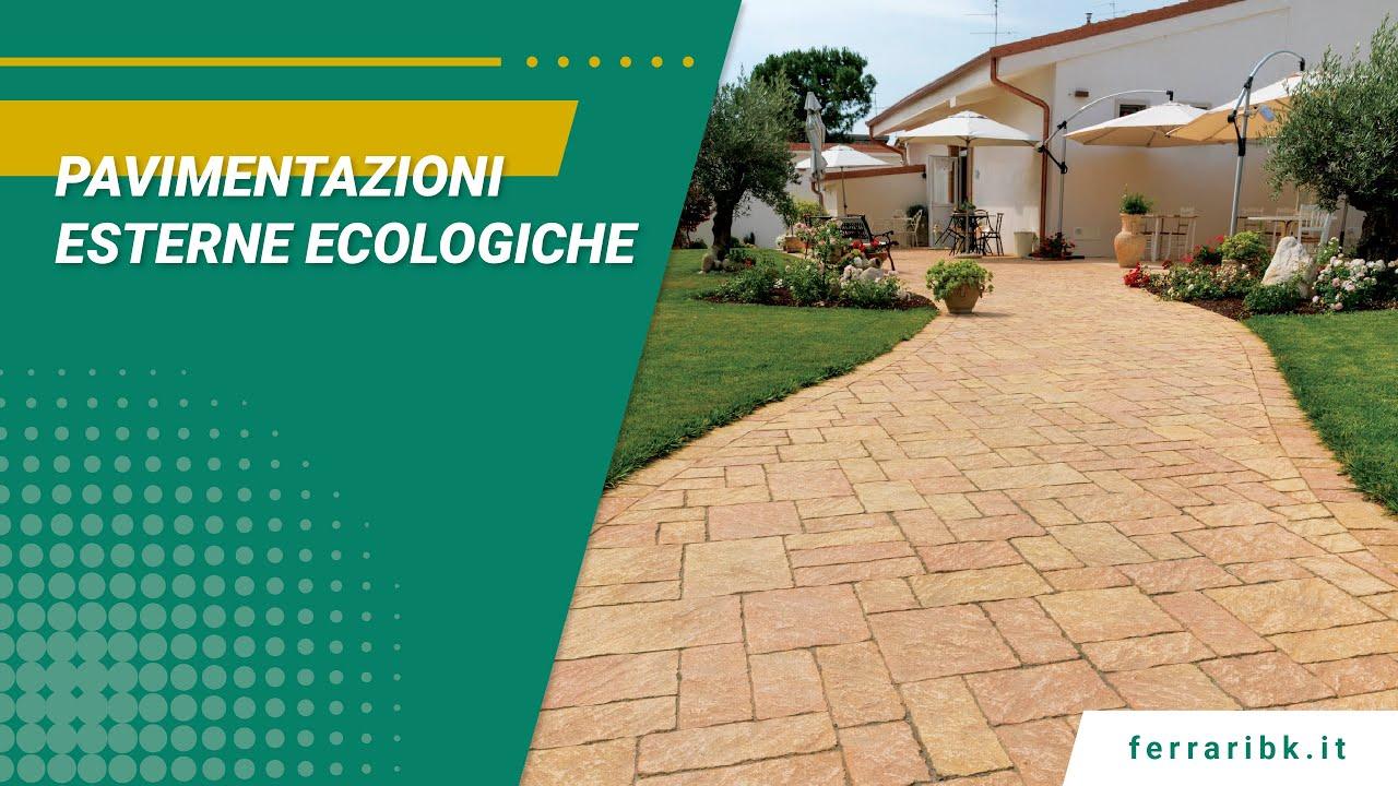 Download Pavimentazioni esterne ecologiche