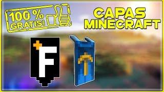 Como ter Capa Da Of/Minecon No Minecraft De Graça ‹ 2017 ›