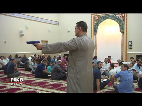 Officer teaches Tampa-area Muslims how to be safe