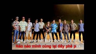 (Beat chuẩn) QUĂNG TAO CÂY BOONG KARAOKE - PjnBoys ft Huỳnh jame