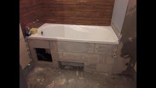 Remont mieszkania w bloku z wielkiej płyty #31 Murowanie wanny