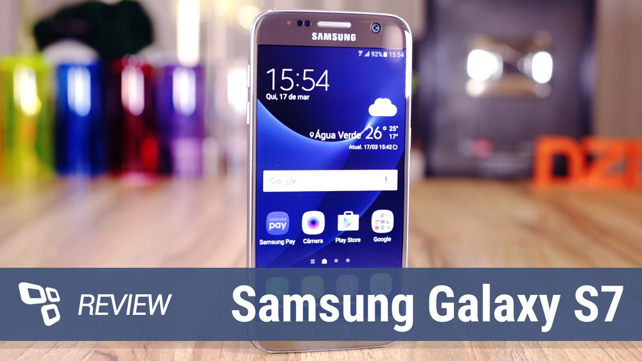 11944f32be457 Samsung Galaxy S7  Review  - TecMundo - YouTube
