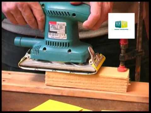 bricolage la ponceuse vibrante diy the sander youtube. Black Bedroom Furniture Sets. Home Design Ideas