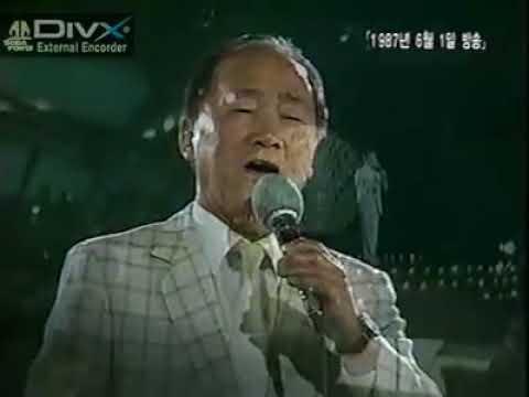 김정구   눈물젖은 두만강 1987