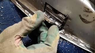 БЫСТРЫЙ Ремонт петлей(шарниров),как убрать люфт на Ваз, Лада,Приора,Гранта,Жигули,