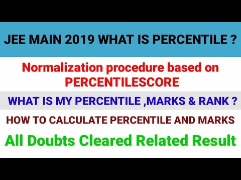 JEE Main 2019 Calculate Percentile & Marks🔥 | January Exam Result Declared 👍