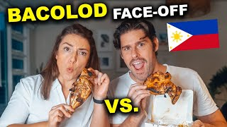 Foreigners CHICKEN INASAL Taste Test! Aida's vs. Bacolod Chicken Inasal