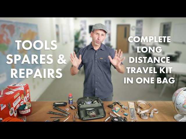 My Complete Tool Kit for International Motorcycle Travel - TOOLS, SPARES & REPAIRS