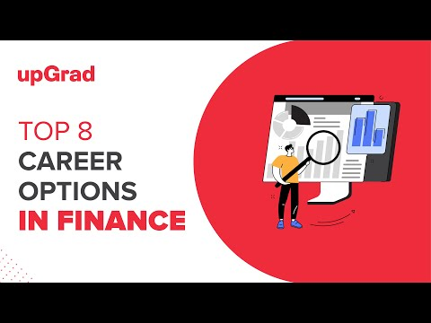 Top 8 Career Options in Finance | upGrad