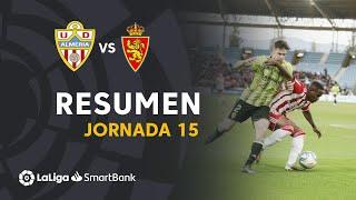 Resumen de UD Almería vs Real Zaragoza (1-1)