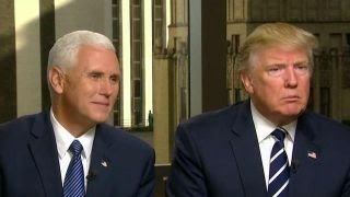 Trump, Pence talk Clinton email scandal
