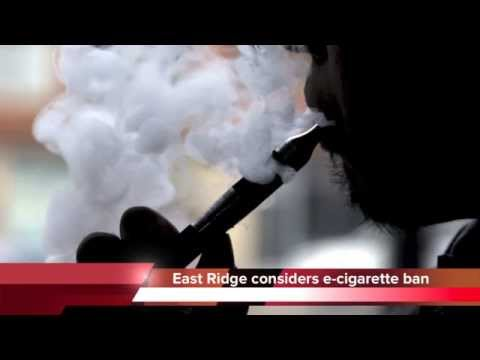 East Ridge first city in Tennessee to ban e-cigarettes?