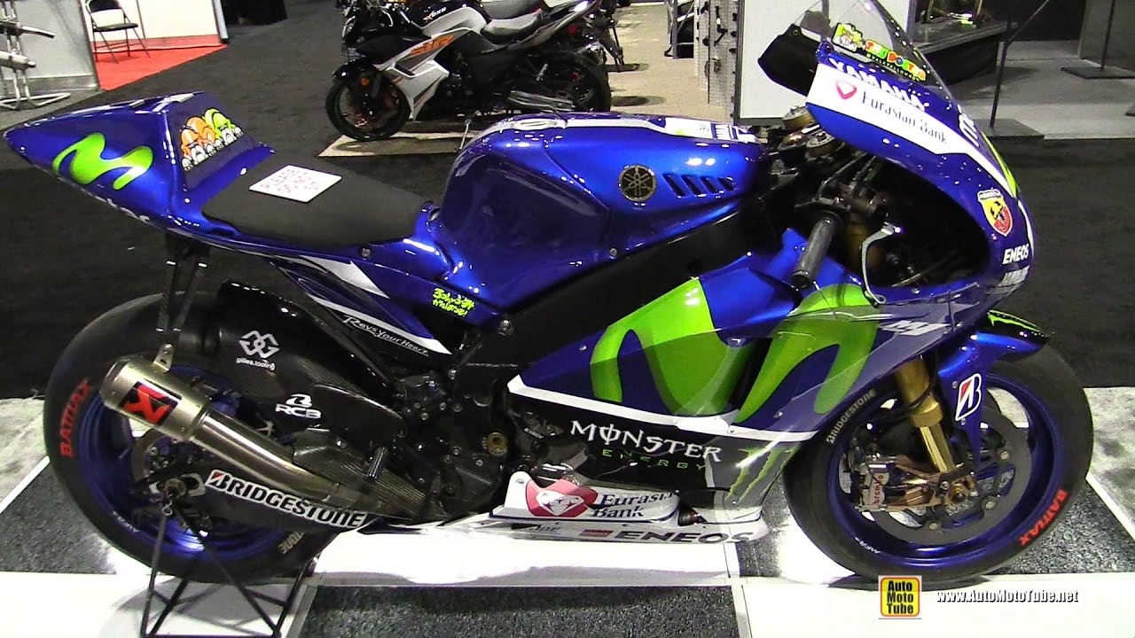 2016 Yamaha Yzr M1 Valentino Rossi Racing Bike Walkaround 2016