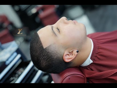 Transformation: How to Cut Bald Taper Haircut