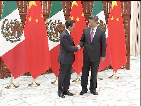 Chinese President Meets with Mexican Counterpart in Hangzhou