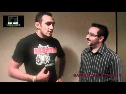 BAMMA USA Tony Ferguson Interview From Bad Beat 3