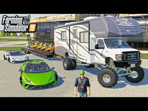 LOTTERY WINNER SPENDS $2,000,000 AT RCC! (ROLEPLAY) | FARMING SIMULATOR 2019