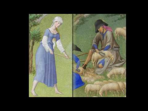 The Limbourg Brothers林堡兄弟1385-1416 Dutch Gothic Art miniature llustration