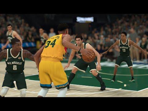 Giannis Antetokounmpo Vs The Entire Milwaukee Bucks Team! | NBA 2K19
