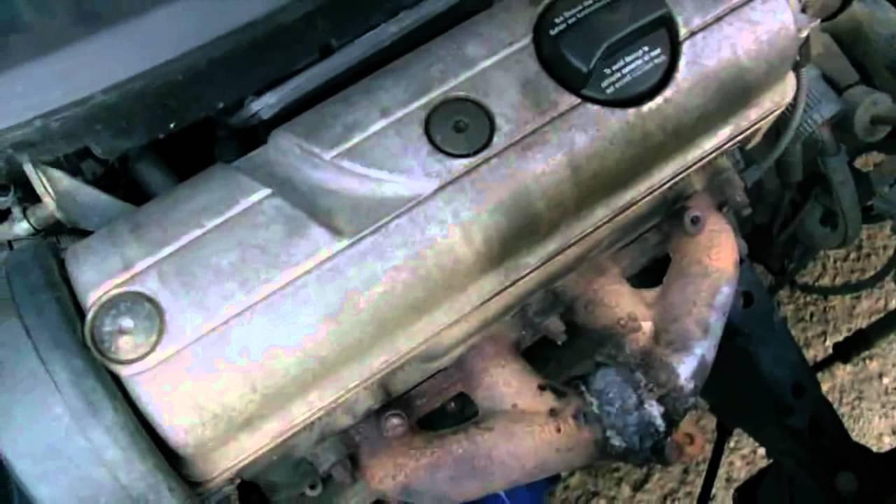 WV Polo 6N 1.4 8V Engine Noise - YouTube