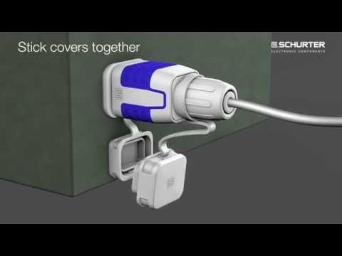 防水タイプのIECコネクタ 4761/4762シリーズを販売開始[保護等級IP67/IP69K]