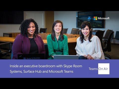 Teams On Air Ep. 60 Inside an executive boardroom w/ Skype Room Systems