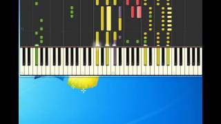 Madonna   True Blue [Piano tutorial by Synthesia]